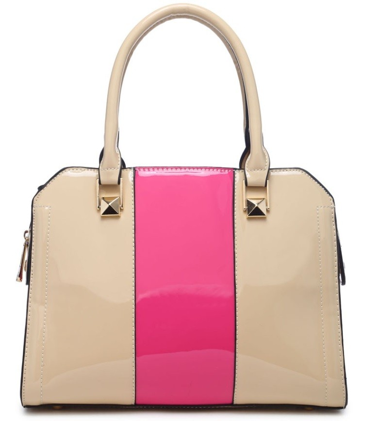 Béžovo růžová kabelka do ruky Charline