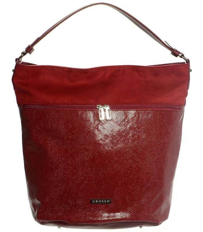 Červená kabelka na rameno Zendaya