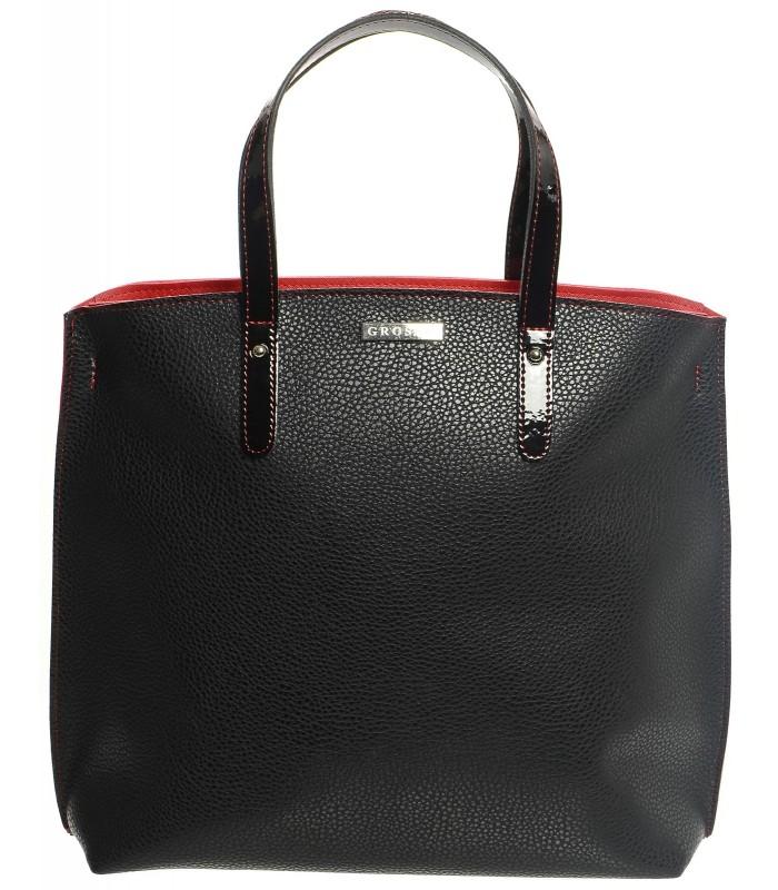 Černo červená kabelka Melyna