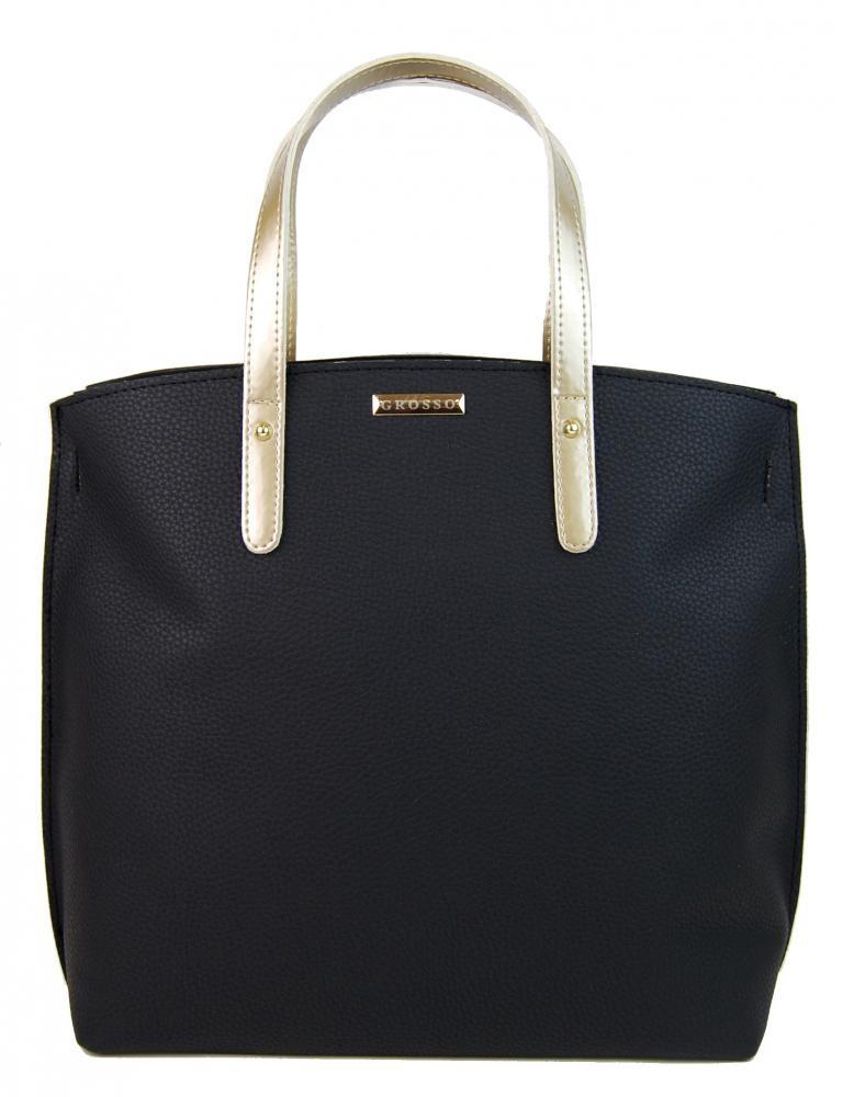Černo zlatá kabelka Yael