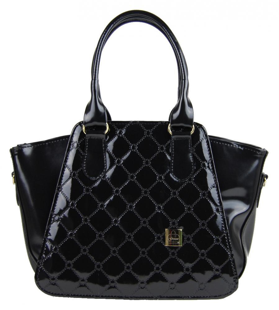 Černá kabelka do ruky Savannah