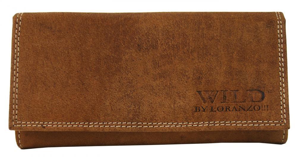 Hnědá dámská kožená peněženka Vittoria