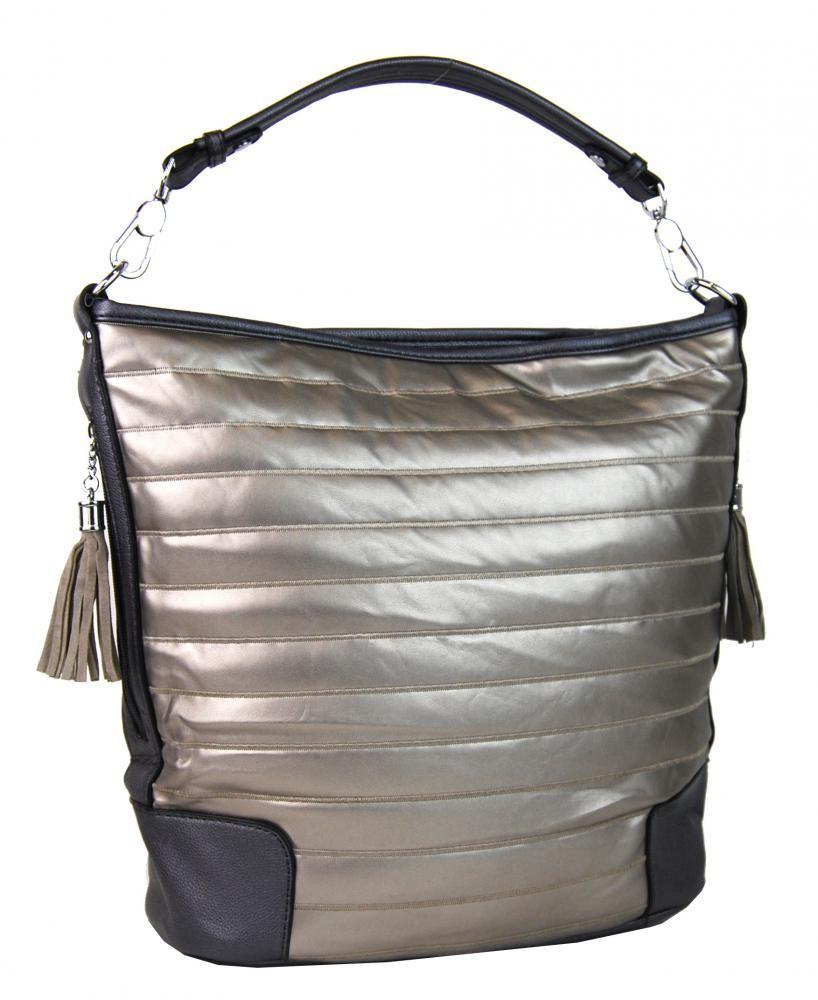 Stříbrná kabelka Betria