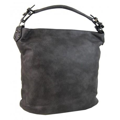 Tmavě šedá kabelka na rameno Denebola