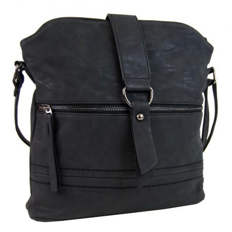 Černá crossbody kabelka Contaile