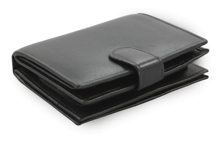 Černá dámská kožená peněženka Kendall