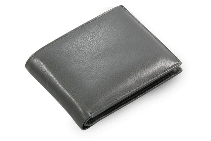 Černá pánská kožená peněženka Joel