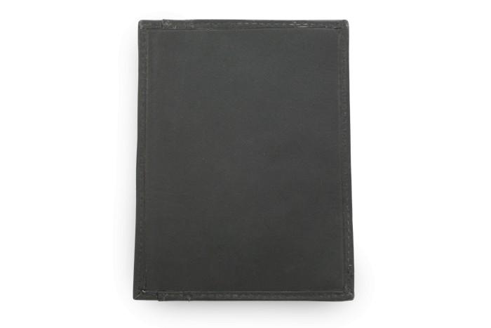 Černá kožená dokladovka Kennedien