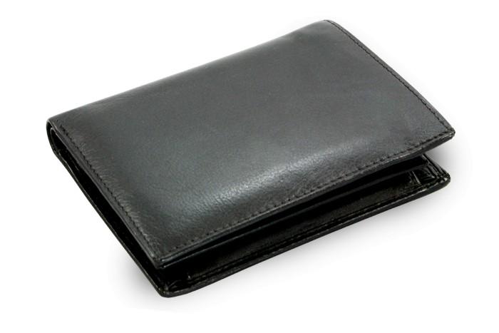 Černá pánská kožená peněženka Javier