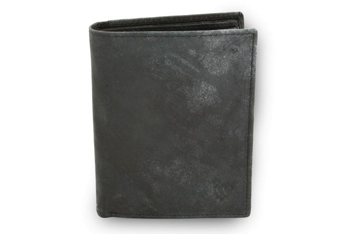 Sleva - -54 Kč. Černá pánská kožená JEANS peněženka Raffael ce790f143e