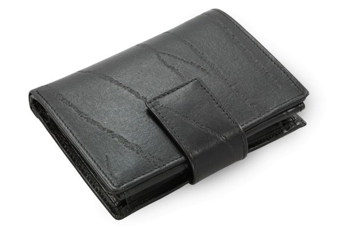 Černá pánská kožená peněženka Jameson