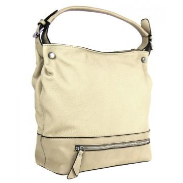 Žluto béžová kabelka Antoinette 07b597c5047