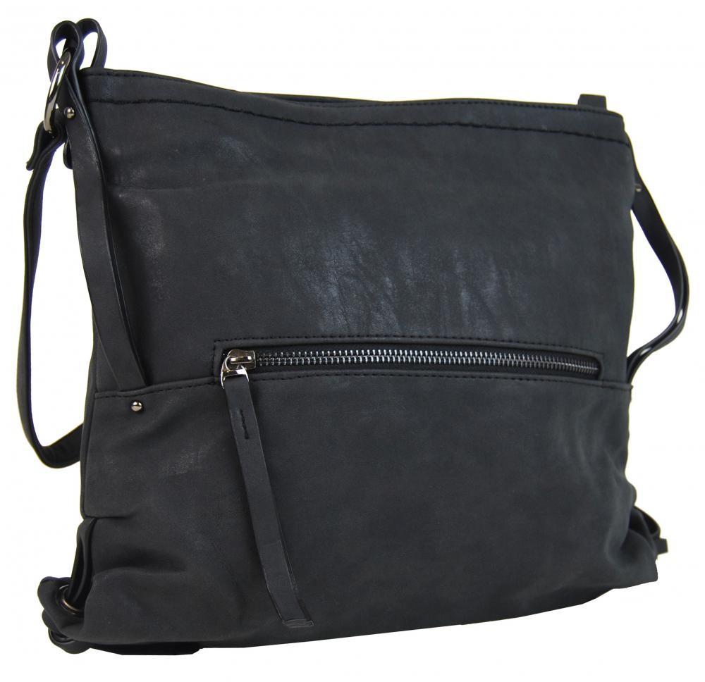 Černá dámská crossbody kabelka Roxane