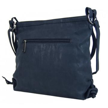 Tmavě modrá dámská crossbody kabelka Roxane ac65e903f97