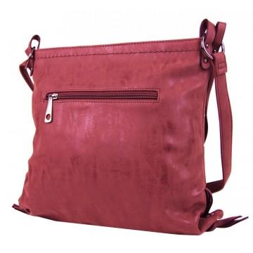 1f761f863a Malinově červená dámská crossbody kabelka Roxane