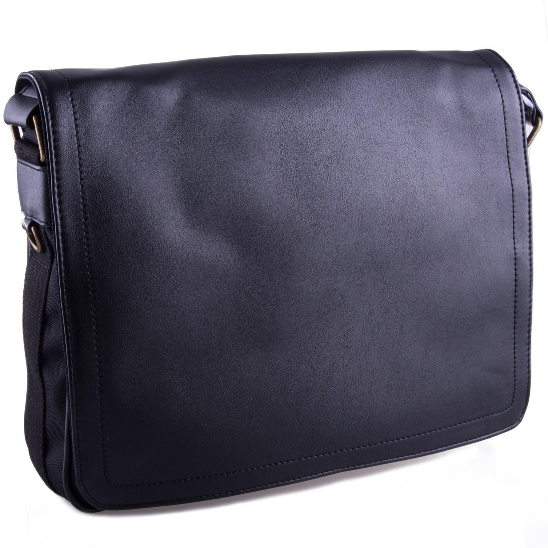 Černá větší pánská taška přes rameno Daniell