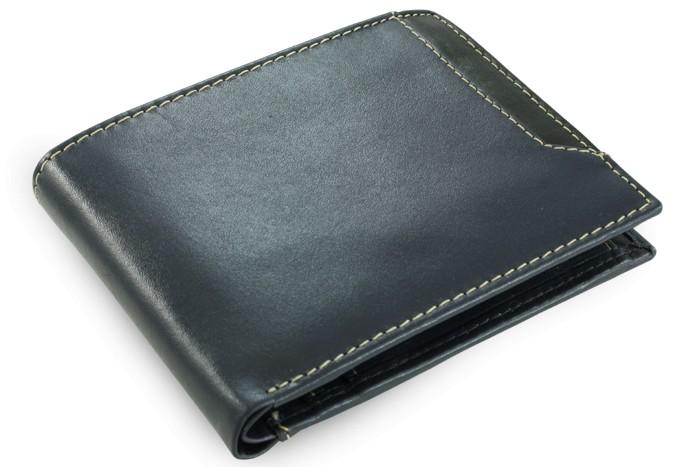 Modrá pánská kožená peněženka Nenden