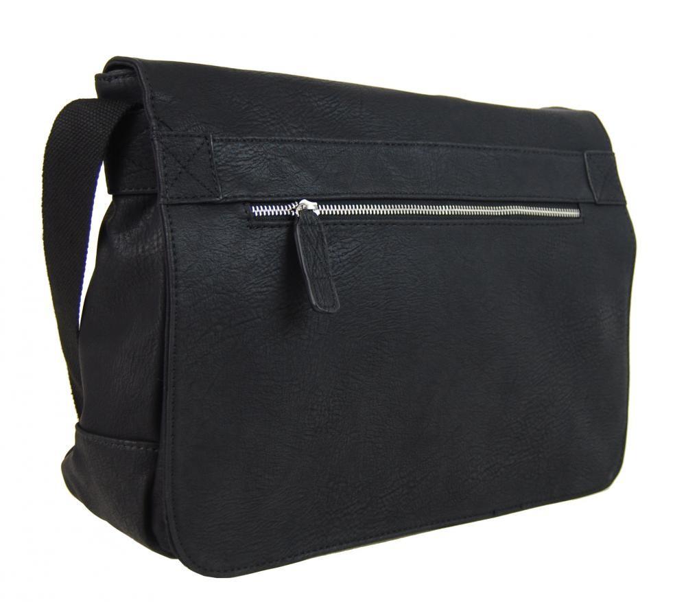 Černá pánská crossbody taška Janell