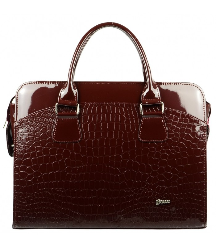 Vínová dámská luxusní taška na notebook Kajam