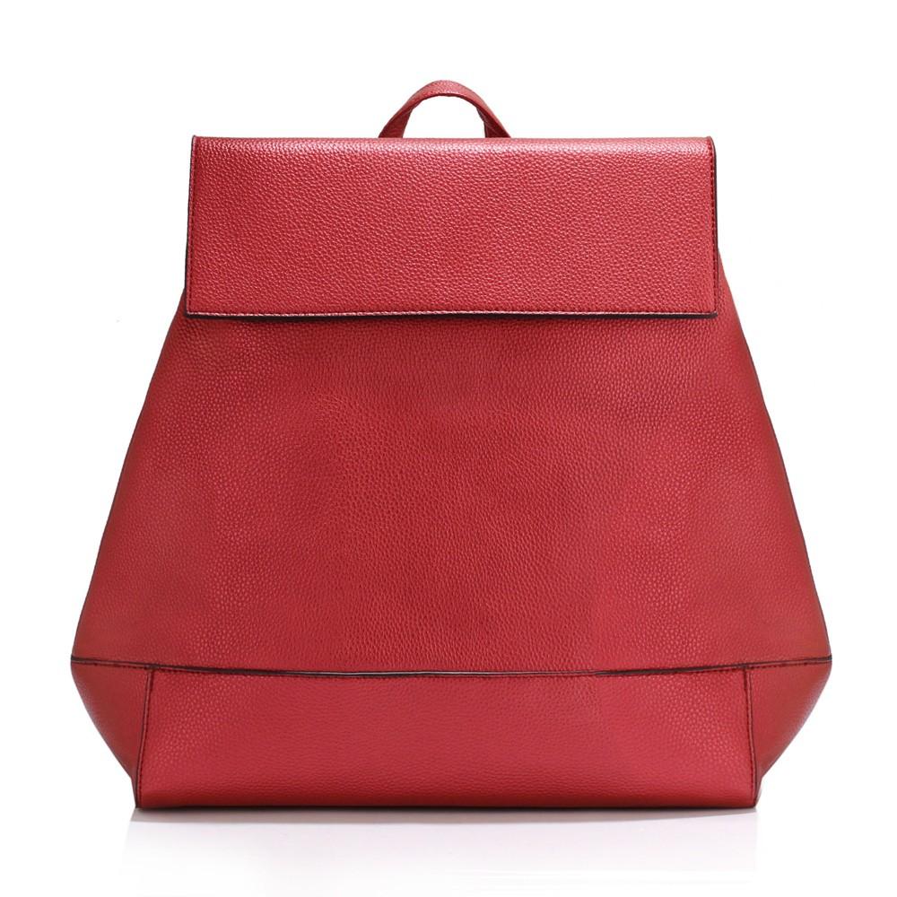 Vínově červený elegantní batoh Minsie