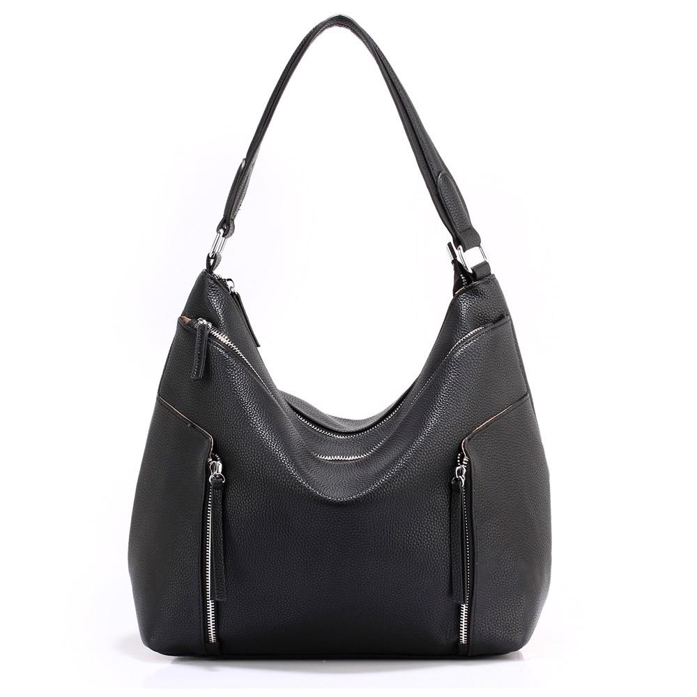 0cdf95ee72d Černá moderní hobo dámská kabelka Parlie