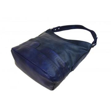 17aa8790c2 Modrá velmi elegantní dámská crossbody kabelka Mariell