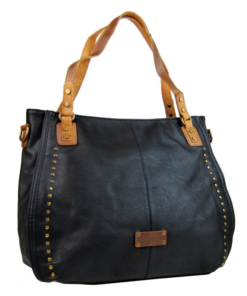 Černá elegantní kabelka přes rameno Opriel
