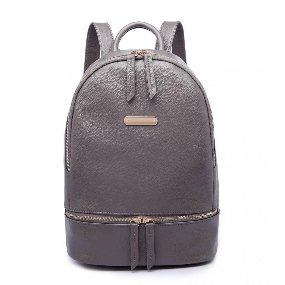 Šedý dámský elegantní batoh Fantel