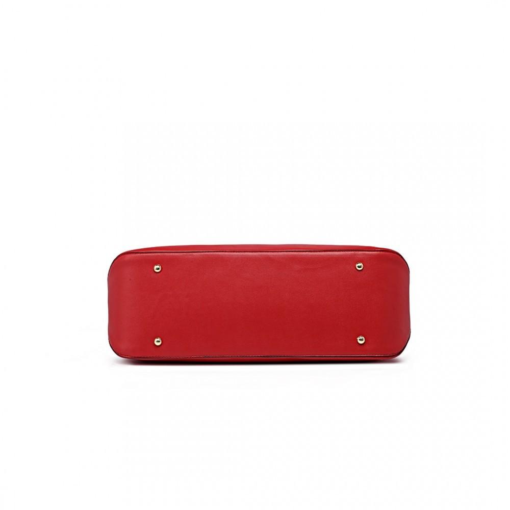 Červená 3v1 kabelka