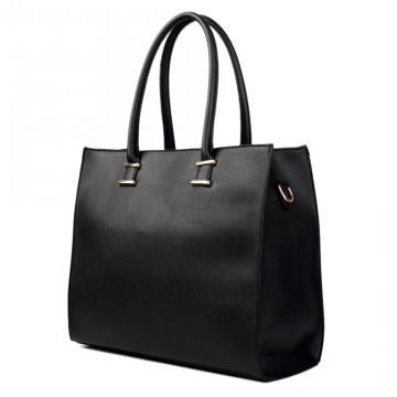Černá elegantní dámská kabelka do ruky i na rameno Gariel 25369c59ffc