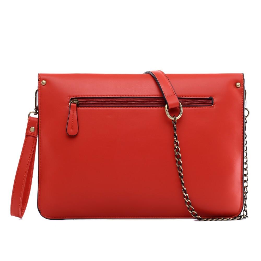 be21aa3ac44 Červená dámská kabelka přes rameno Dalei