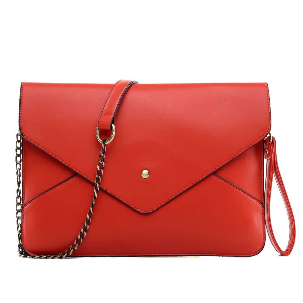 Červená dámská kabelka přes rameno Dalei