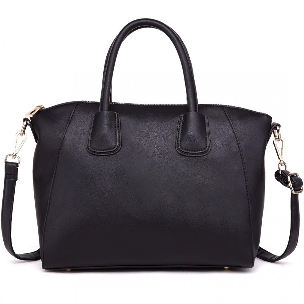 Černá kvalitní elegantní dámská kabelka Bezlie