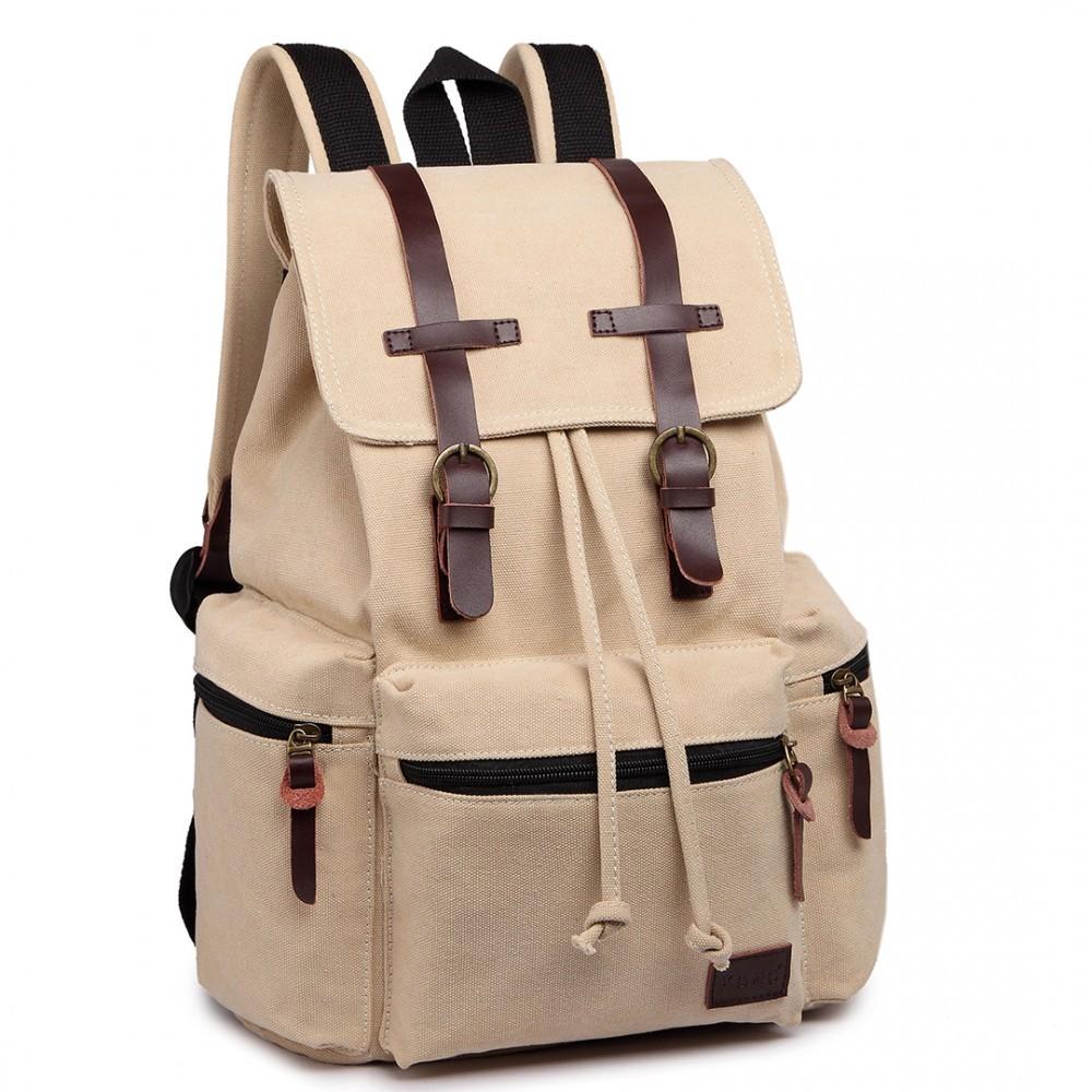 Béžový praktický kvalitní batoh Gotlen