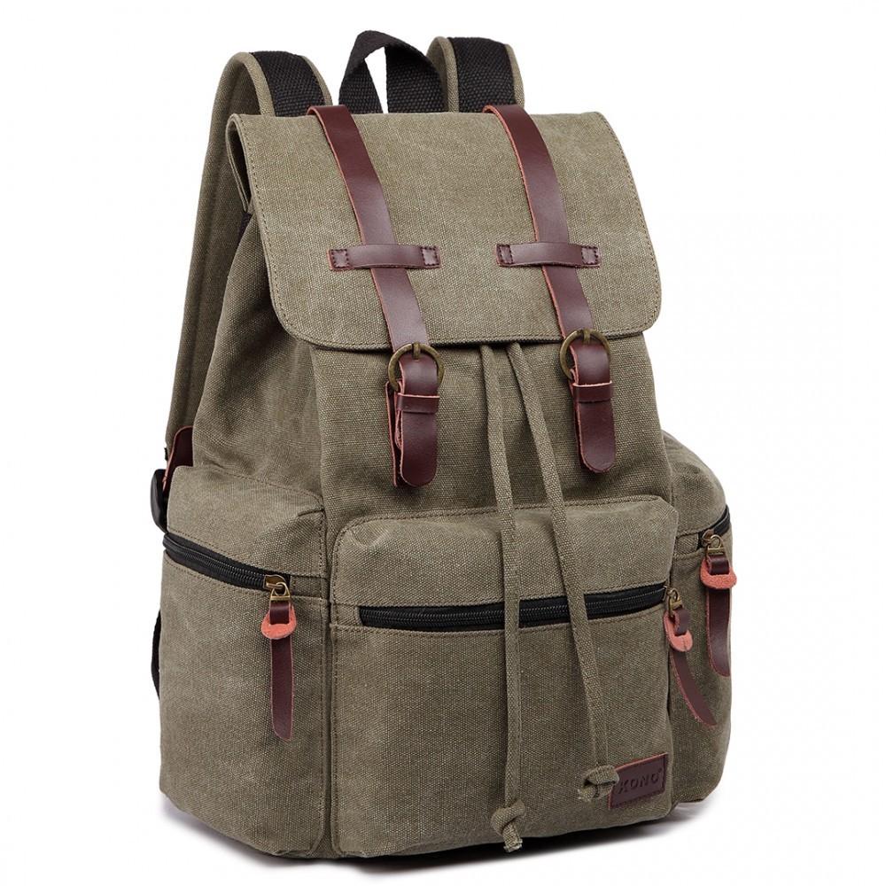 Zelený praktický kvalitní batoh Gotlen