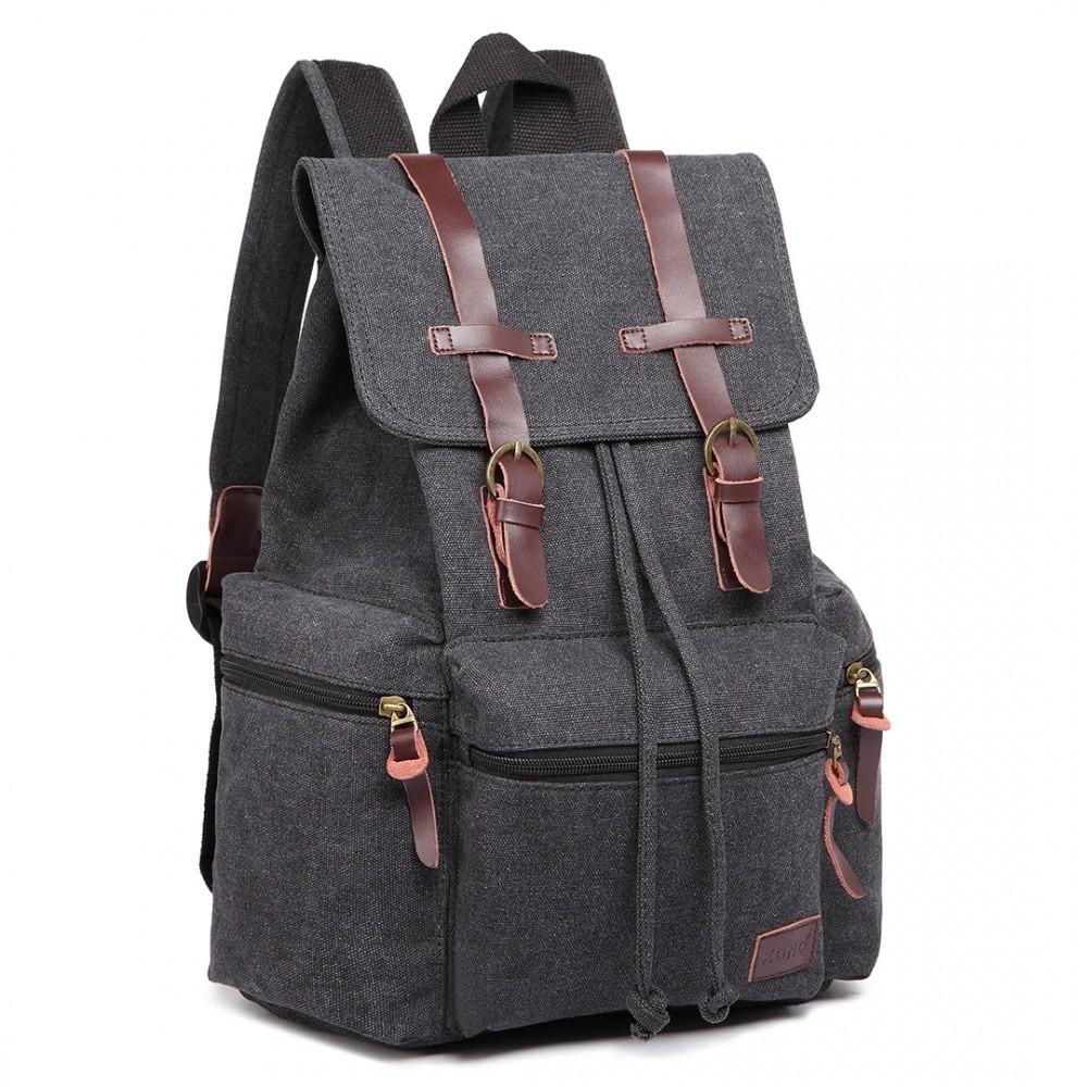 Černý praktický kvalitní batoh Gotlen