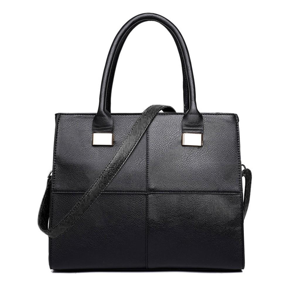 Černá netradiční kvalitní dámská kabelka Ladriel
