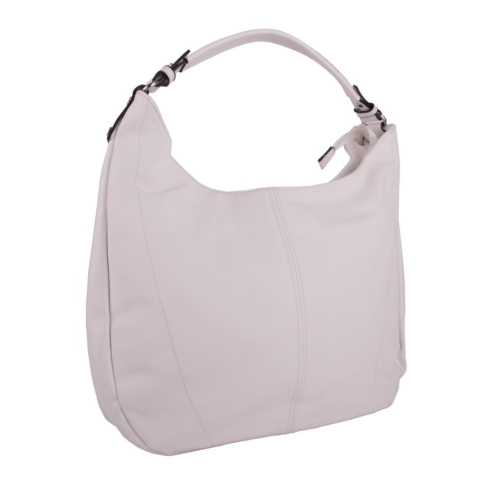 Bílá prostorná dámská kabelka Kaflien