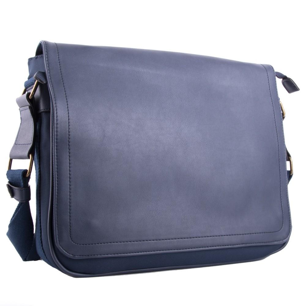 Modrá větší pánská taška přes rameno Daniell