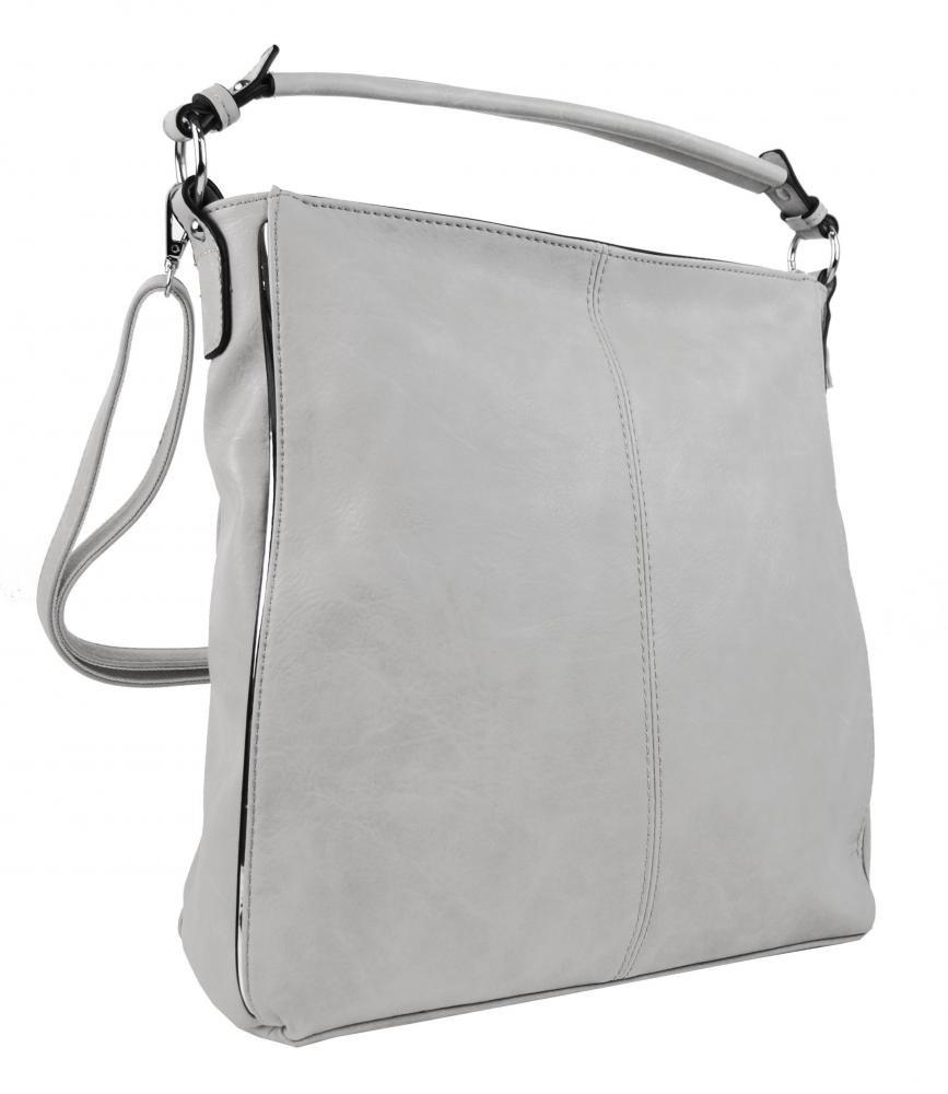 Bílá dámská moderní kombinovaná kabelka Boel