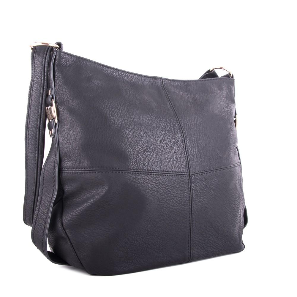 Černá prostorná dámská kabelka Nelien