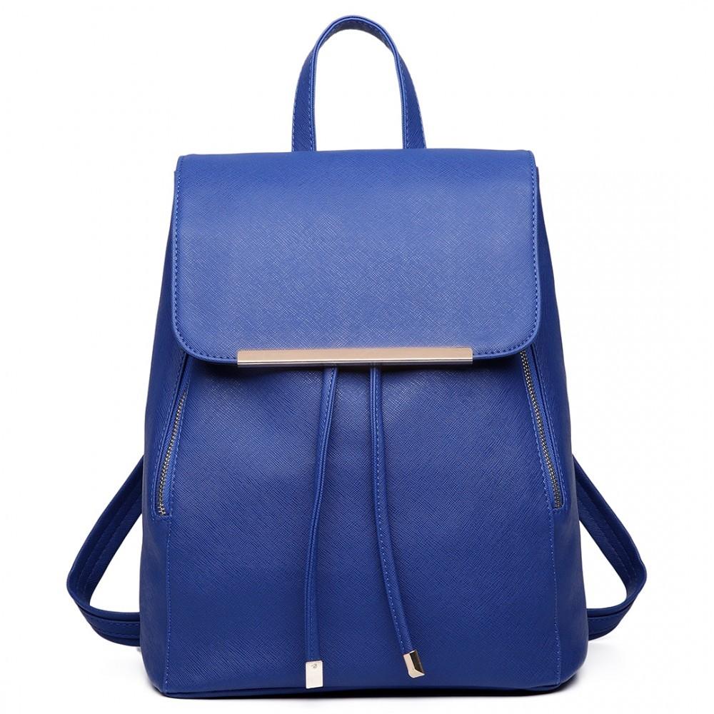 Modrý stylový dámský modní batoh Frell c5d19d5e9a
