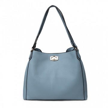 dcc08db29e Světle modrá dámská hobo kabelka přes rameno Eliel