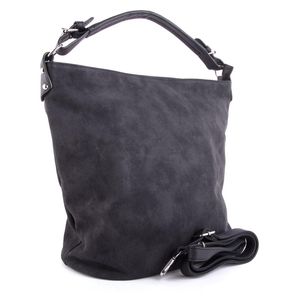 8ae0bb4832 Černá velká dámská kabelka přes rameno Sebie