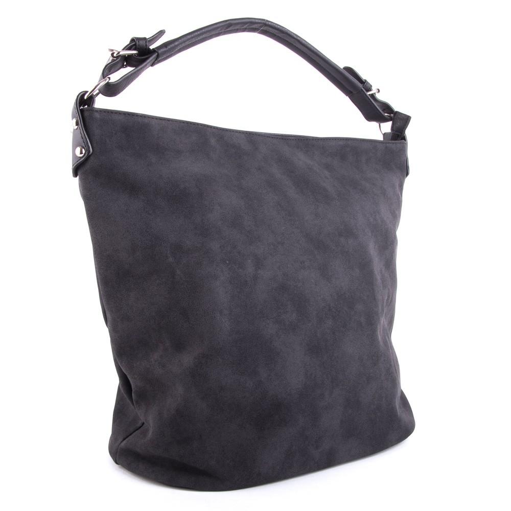 Černá velká dámská kabelka přes rameno Sebie