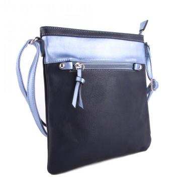 Tmavě modrá moderní dámská crossbody kabelka Jistien c5e752ad9f