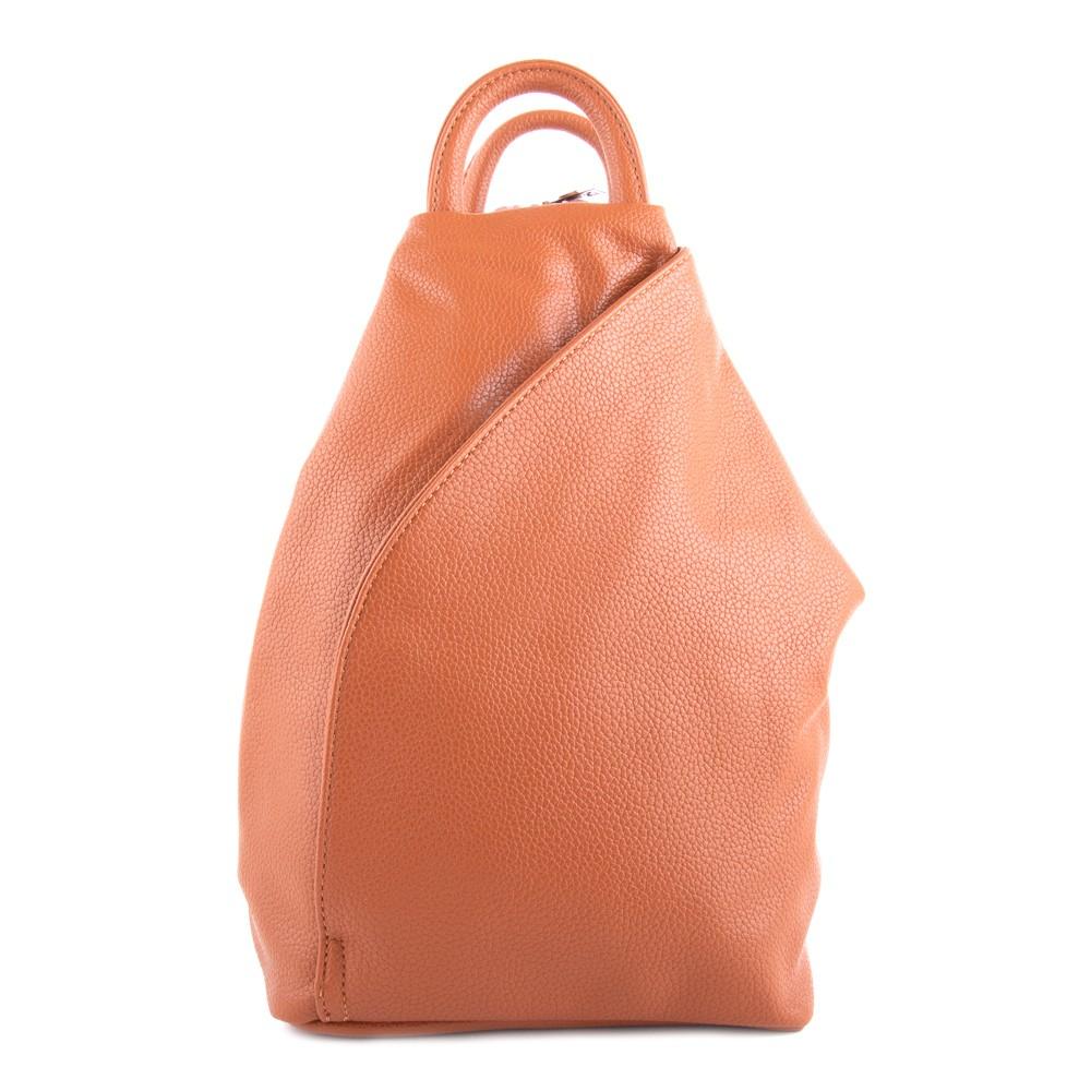 Hnědý moderní dámský batoh Zastien f63170e771