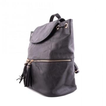 Černý elegantní moderní dámský batoh Sennie 572ecd545f