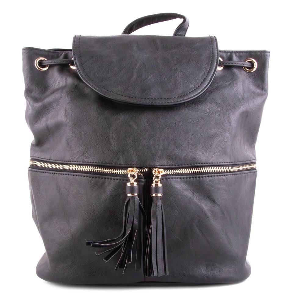 ac851aa1a7 Černý elegantní moderní dámský batoh Sennie