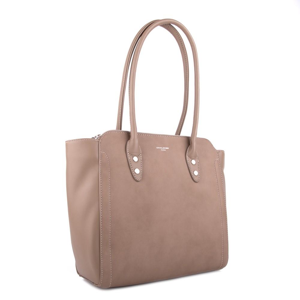 b7a71a6c86 Světle hnědá stylová modní dámská kabelka Konen